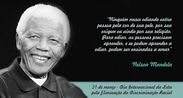 Eu Tenho Um Sonho De Que Um Dia Meus Quatro Filhos Vivam: 21 De Março, Dia Internacional De Luta Contra A