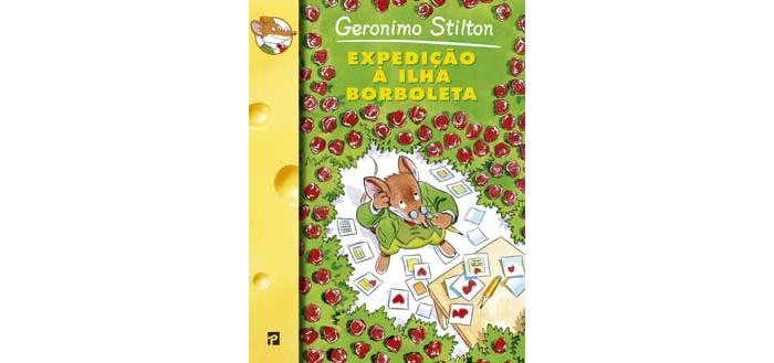 Expedição á ilha da borboleta de Geronimo Stilton