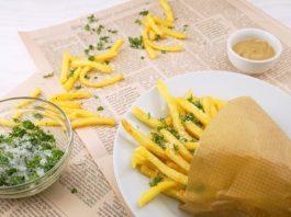 Fritos, batatas fritas