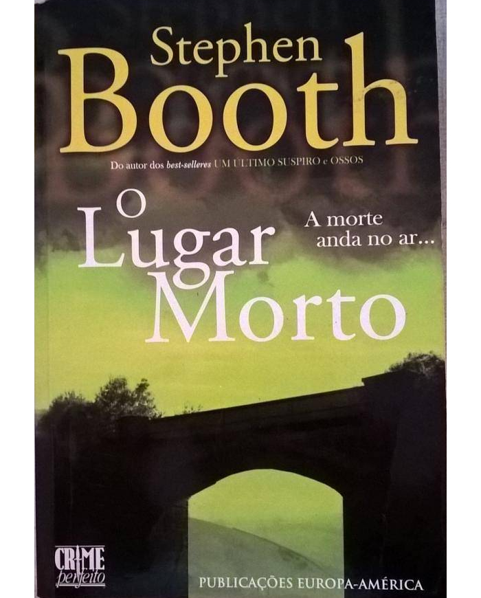 O lugar morto de Stephen Booth