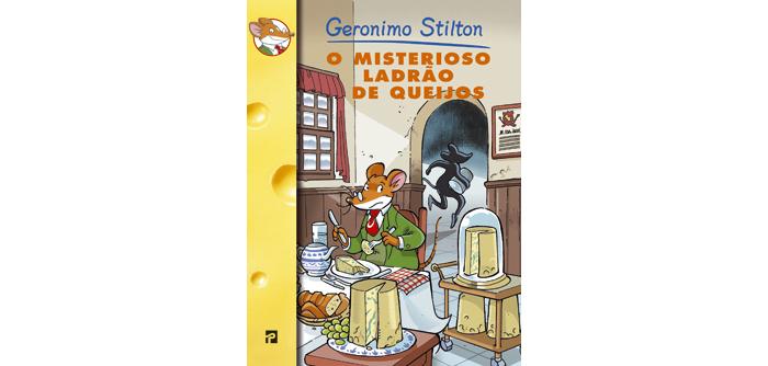 O misterioso ladrão de queijos de Geronimo Stilton