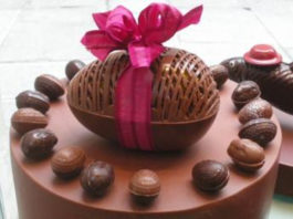 Páscoa: Ovos de chocolate