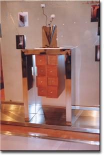 Uma peça de mobiliário original para o seu hall de entrada