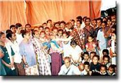 Viagem a Timor Loro Sae - refugiados
