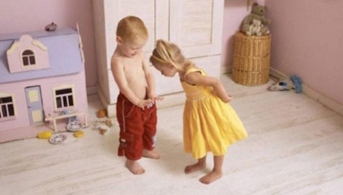 Como evolui a sexualidade das crianças