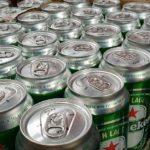 Precauções com bebidas enlatadas