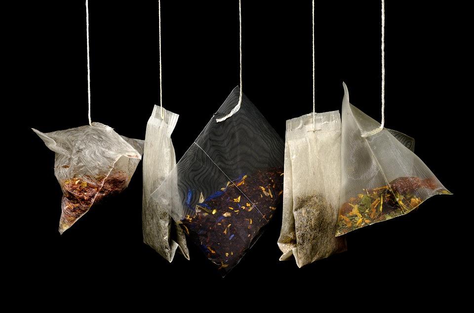 Chá em saquetas, conheça a sua história