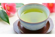 Chá Matcha com gengibre