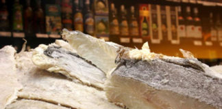 Bacalhau presente desde sempre na mesa portuguesa