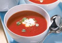 Receita de Creme de tomate com natas
