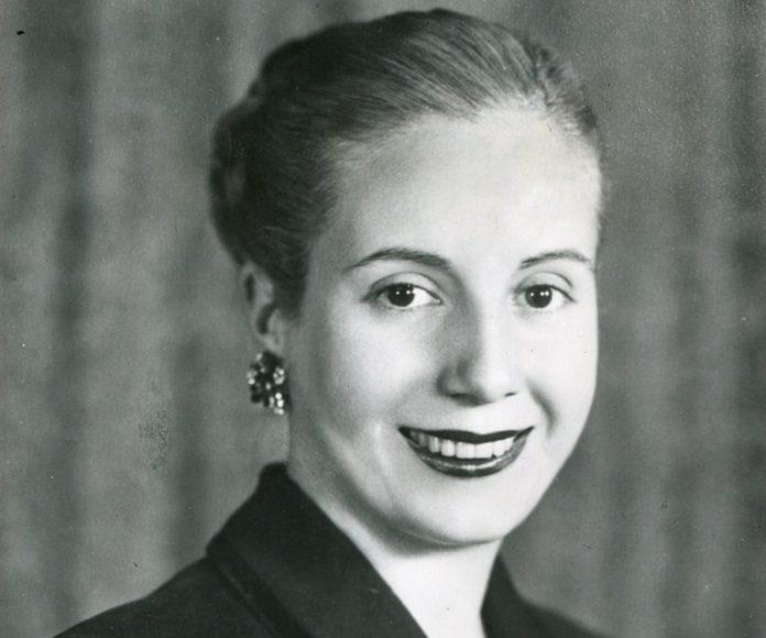 Evita Perón, uma atriz e líder política argentina