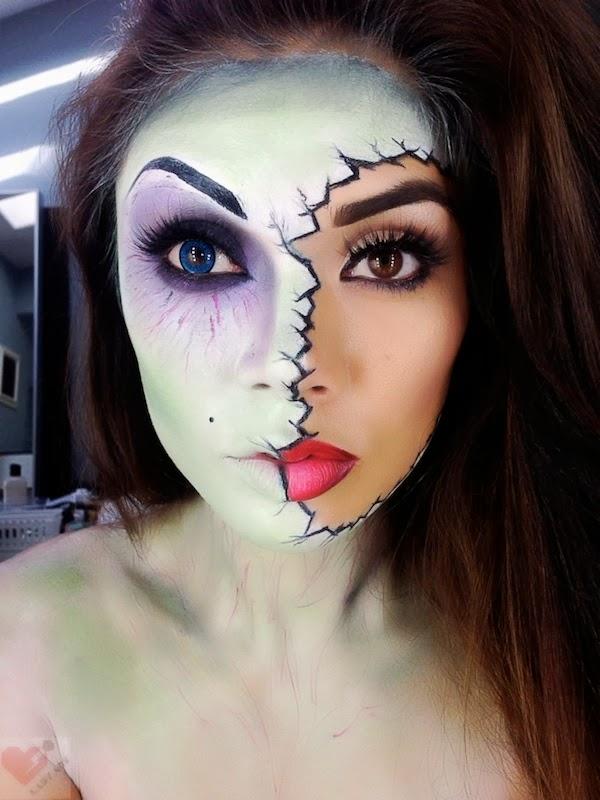 Maquilhagem Halloween - terrifíca