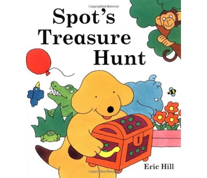 O Bolinha e a caça ao tesouro de Eric Hill