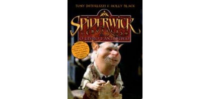 O livro fantástico - as crónicas de Spiderwick de Tony DiTerlizzi e Holly Black