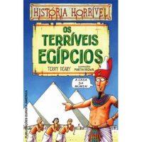 Os Terríveis Egípcios de Terry Deary e Martin Brown