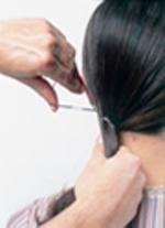 Penteado Elegante e Requintado - passo 1