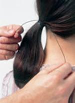 Penteado Elegante e Requintado - passo 2