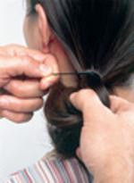Penteado Elegante e Requintado - passo 3