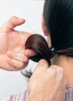 Penteado Elegante e Requintado - passo 4