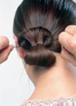 Penteado Elegante e Requintado - passo 5