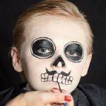 Penteados e maquilhagem para crianças para a festa Halloween - rapaz