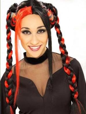 Penteados de halloween- tranças
