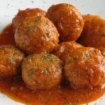 Receita de Almôndegas com molho de tomate na bimby