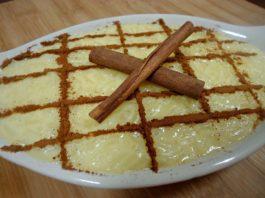 Receita de Arroz doce tradicional