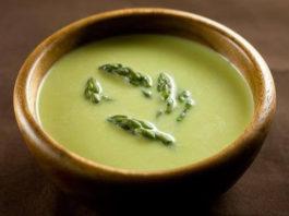 Receita de Sopa de Espargos Verdes Trigueiros