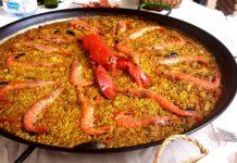 Receita de Paella valenciana ou arroz á valenciana