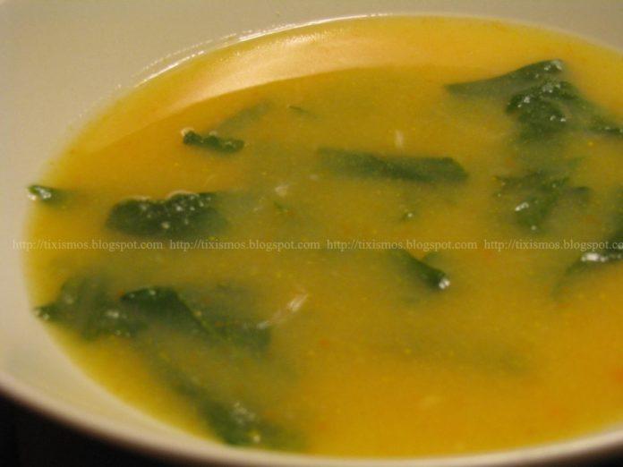 Receita de Sopa de Nabiças