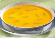Receita de Sopa de feijão verde