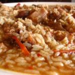 Receita de arroz à minhota