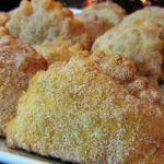 Receita de azevias de batata doce