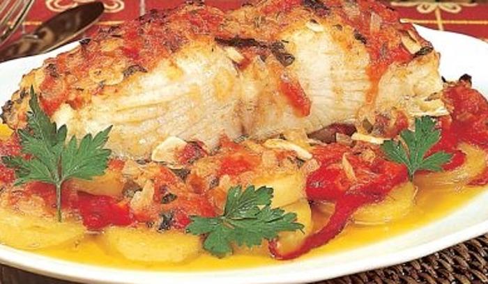 Receita de bacalhau à espanhola