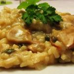 Receita de Risotto Milanês com Cogumelos
