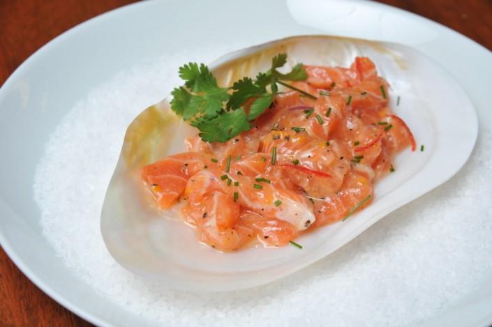 Receita de salmão marinado
