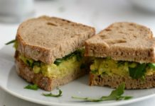 Receita de sanduiche de abacate
