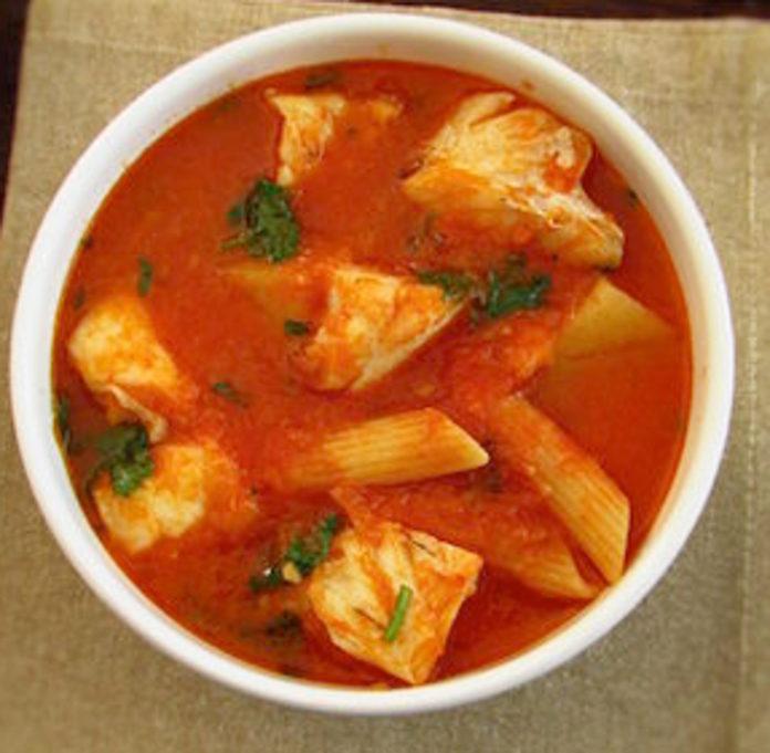 Receita de Sopa de maruca