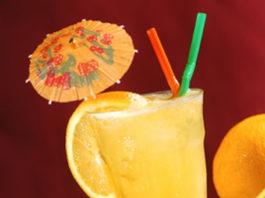 Cocktail Cinderela sem álcool