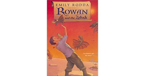 Rowan e os Zebak de Emily Rodda