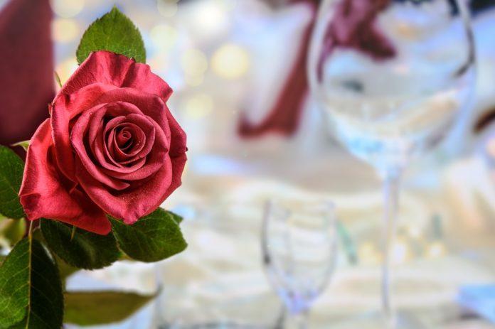 Só para eles: um jantar a dois romântico