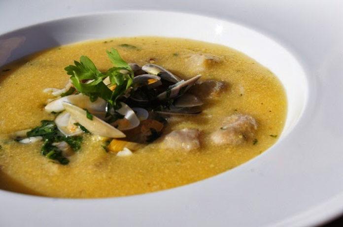 Receita da Sopa de conquilhas