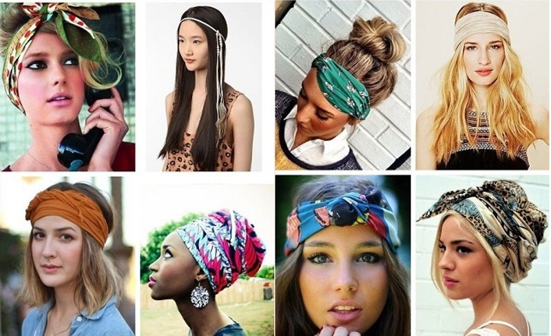 Sugestões de acessórios para cabelo