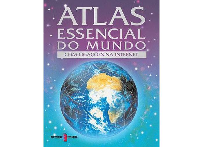 Atlas Essencial do Mundo - Com Ligações na Internet de Stephanie Turnbull