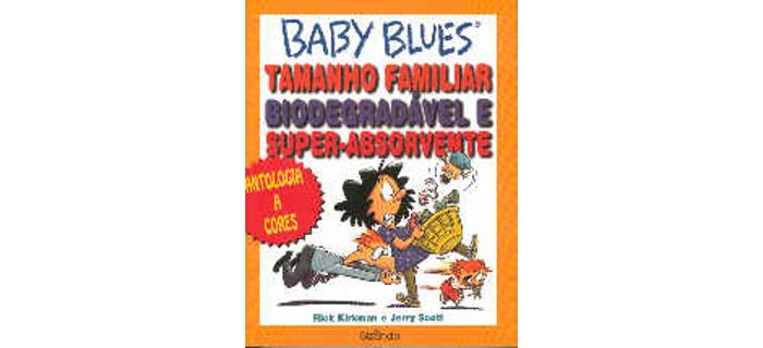 Baby Blues tamanho familiar, biodegradável e super-absorvente