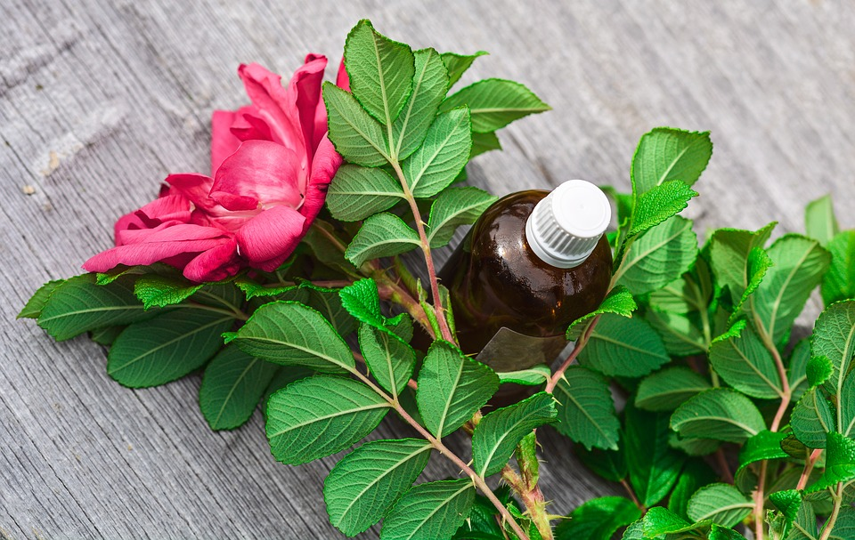 Óleo essencial de rosa