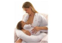 A posição ideal para amamentar