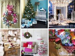 Sugestões para poupar na decoração de Natal