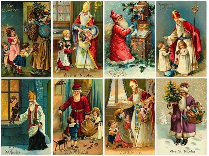 A lenda de São Nicolau, mais muitos o Pai Natal